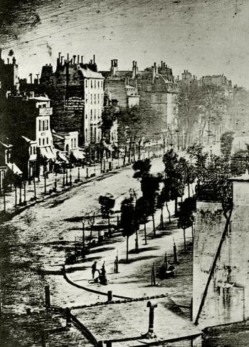 Louis Daguerre, Boulevard du Temple (1838), part.