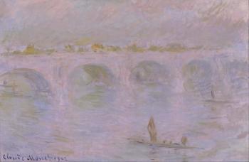 Claude Monet, Le pont de Waterloo à Londres (c. 1902). The National Museum of Western Art, Tokyo