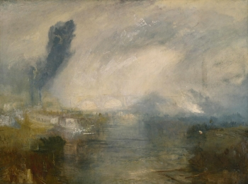 Joseph M. W. Turner, The Thames above Waterloo Bridge (c. 1830). Tate Britain, Londra