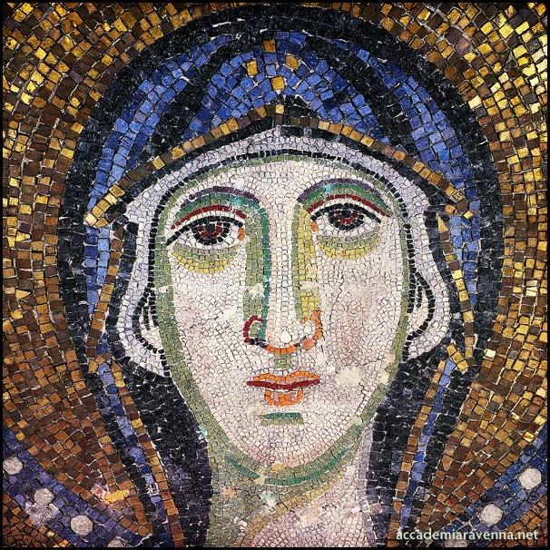 Vergine. Salonicco, Santa Sofia