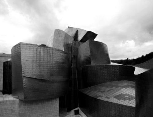 Guggenheim, la nave di titanio