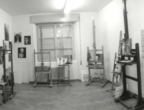 Il laboratorio di pittura