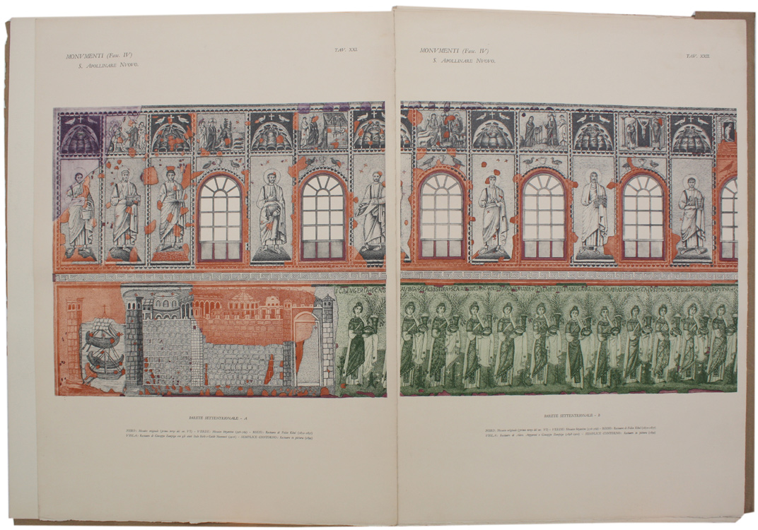 4.Tavole dei mosaici storici Zampiga Azzaroni Ricci