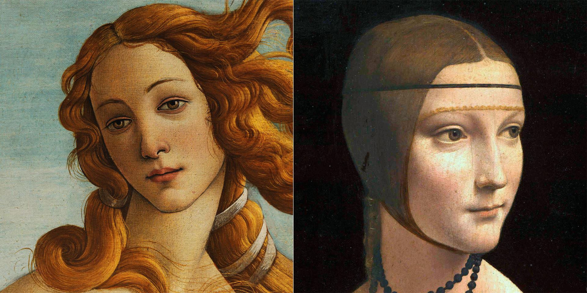 Venere-Botticelli_Ermellino-Leo_1920